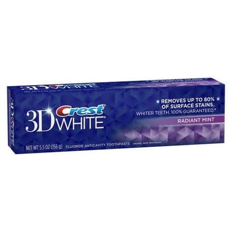 Crest 3D White Printable Coupon