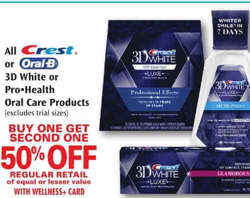 Crest mouthwash coupons 2018