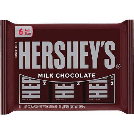 Hershey candy bar coupons