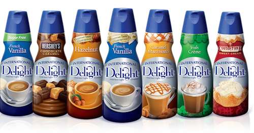 Intetnational Delight Coffee Creamer Printable Coupon
