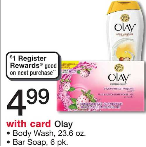 Olay Body Wash Printable Coupon