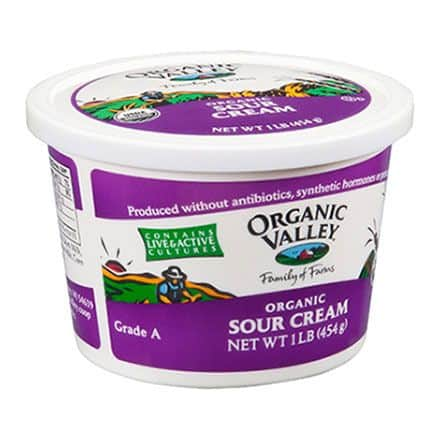 Organic Valley Sour Cream Printable Coupon