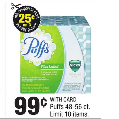photograph regarding Coolsavings Printable Coupons identify Puffs furthermore discount coupons printable - Pillows 2 coupon