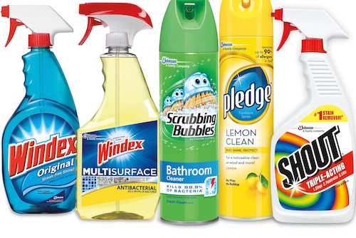 SC Johnson Cleaning Products Printable Coupon