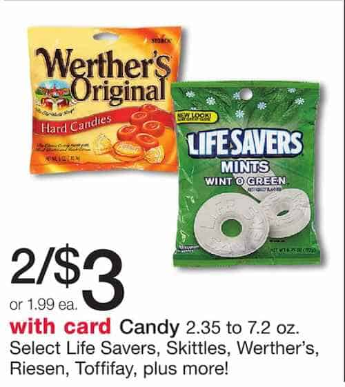 Werther's & Riesen Carmel Candy Printable Coupons
