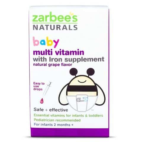 Zarbee's Baby Multivitamin Printable Coupon