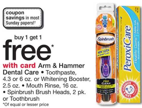 photo regarding Arm and Hammer Printable Coupons referred to as Arm Hammer Toothpaste Merely $1.94 At Walgreens Once BOGO