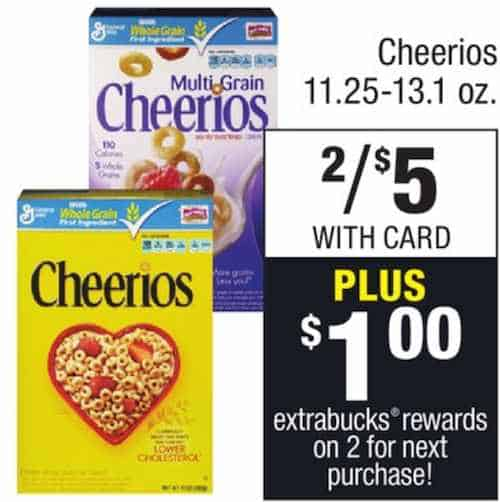 $1 off. $1 off two Cheerios, Trix, Cinnamon Toast Crunch, Cookie Crisp, Fiber One, Wheaties, Raisin Nut Bran, Chex, Lucky Charms, Total or cereal products by General Mills ($1/2) when you redeem this coupon at Family Dollar (registered Family Dollar members only) .