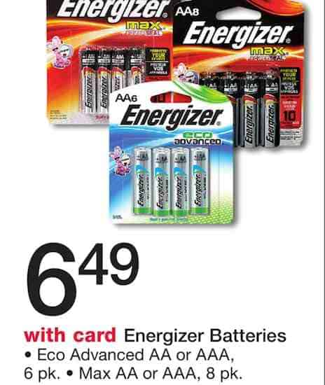 Energizer Batteries Printable Coupon