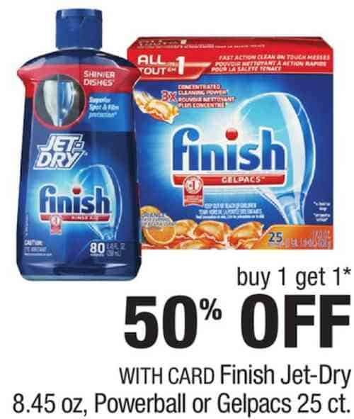 Finish Jet Dry Detergent Printable Coupon