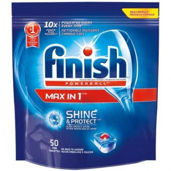 Lemi Shine Dishwasher Detergent and Lemi Shine Booster make it easy to remove hard water stains. Just print the coupons above to save now.