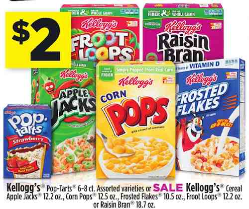 Fruit Flavored Snacks; Fruit Flavored Snacks; New Products; Kellogg's® Froot Loops® cereal. Sweetened multi-grain cereal. Where To Buy. See Nutrition Facts, Ingredients and more. Select Pack Size. View SmartLabel. Coupons Make the most of your day — for less — with Kellogg's coupons. View all coupons Featured Recipe.