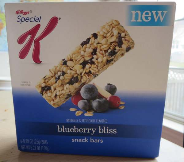 Kelloggs Special K Snack Bars Blueberry Bliss