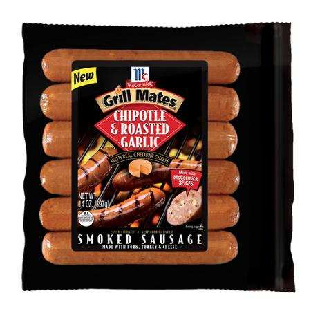 McCormick® Grill Mates® Premium Smoked Sausages Printable Coupon