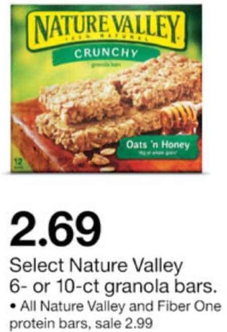Printable coupons nature valley