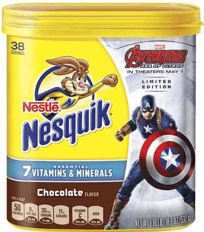 Nesquik Avengers Printable Coupon