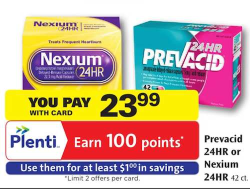 graphic regarding Nexium Coupons Printable named $8.25 Off Nexium 24HR At the time Ceremony Help Sale, Plenti Specifics and