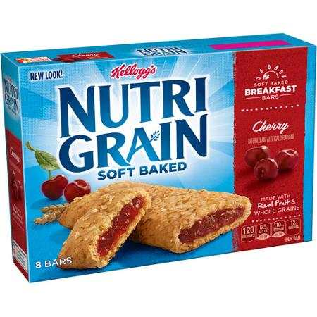 Kellogg's Nutrigrain Bars Printable Coupon