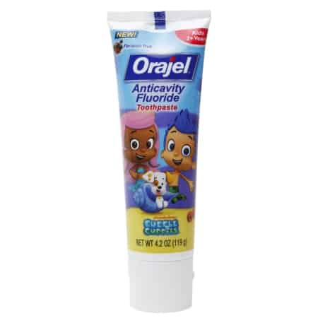 Orajel Bubble Guppies Printable Coupon