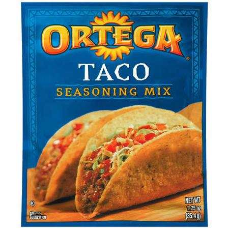 Ortega Taco Seasoning Printable Coupon