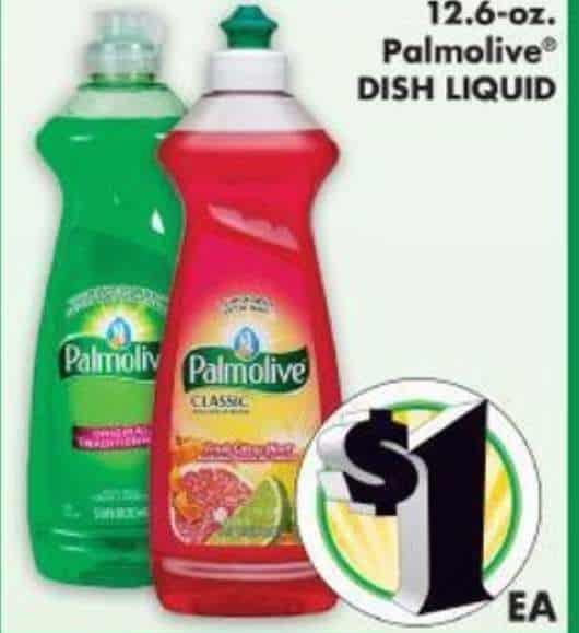 Palmolive Dish Soap Printable Coupon