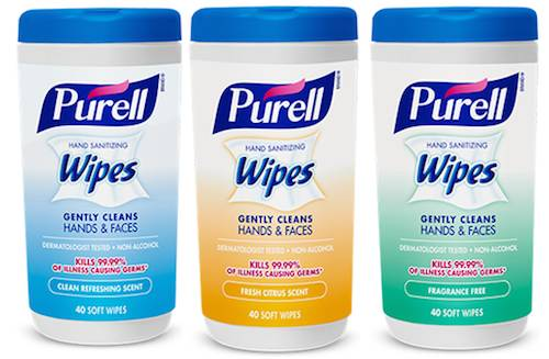 image regarding Purell Printable Coupons called Purell Hand Sanitizing Wipes 40ct Free of charge At Experience Assistance With