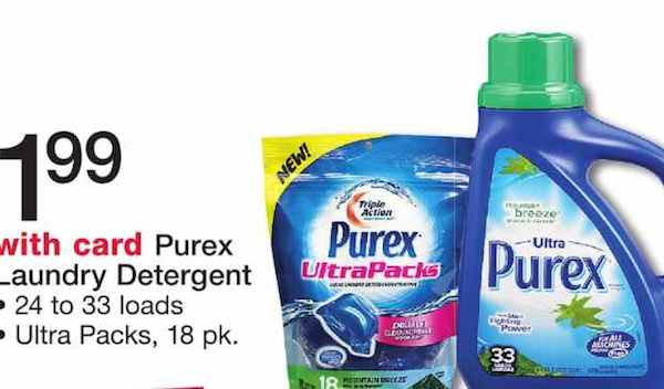 photo regarding Purex Printable Coupons identify Purex Laundry Detergent Simply $0.99 At Walgreens - Printable