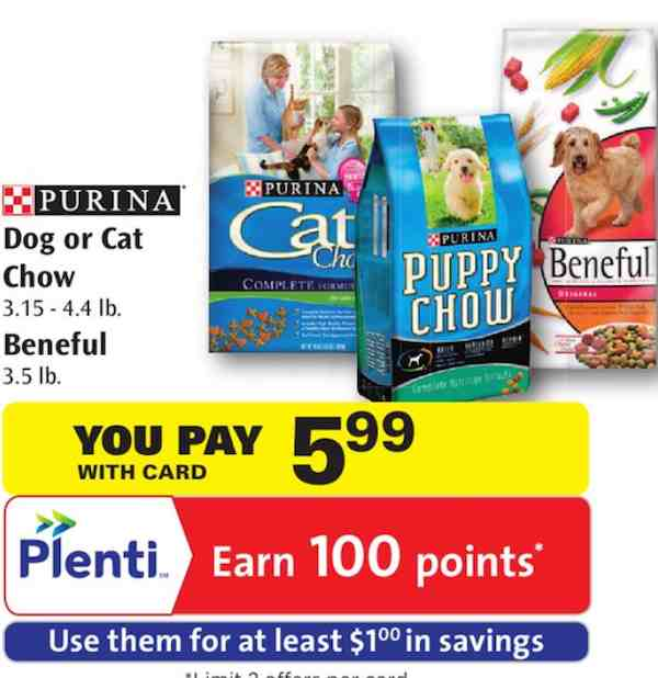 Purina Beneful Dog Food No Size Printable Coupon