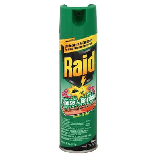 Raid House and Garden Printable Coupon