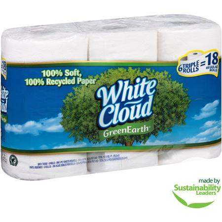 White Cloud Triple Roll Printable Coupon