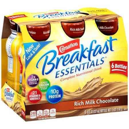 Carnation Breakfast Essentials Drink Printable Coupon