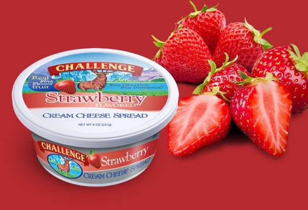 Challenge Cream Cheese Strawberry Printable Coupon