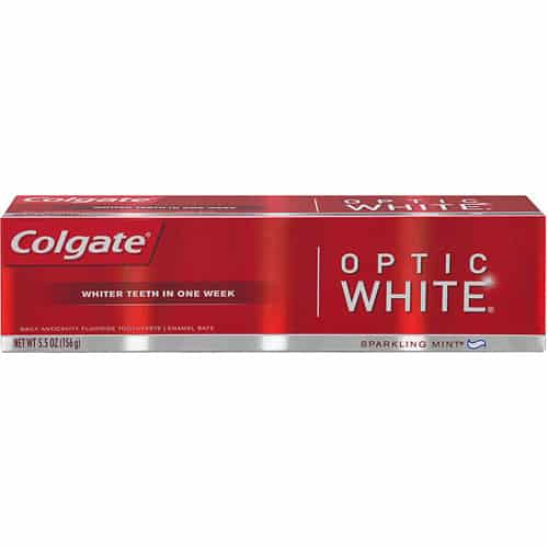 Colgate Optic White Toothpaste Printable Coupon