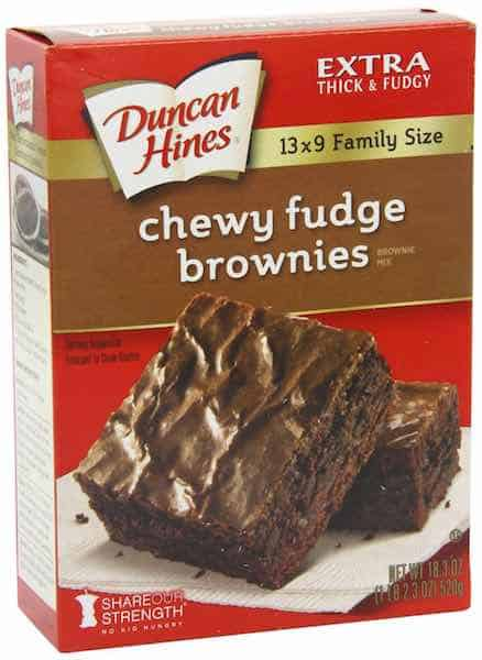 photograph relating to Duncan Hines Coupons Printable referred to as Yum! Duncan Hines Brownies Simply just $0.77 At Food items Lion When
