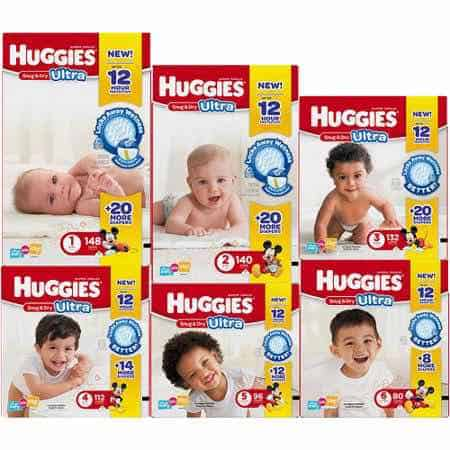 Huggies snug and dry Printable Coupon