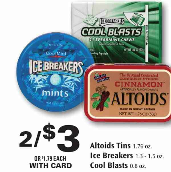 Ice Breakers Rite Aid Store Printable Coupon