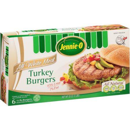 JENNIE-O Turkey BurgersPrintable Coupon
