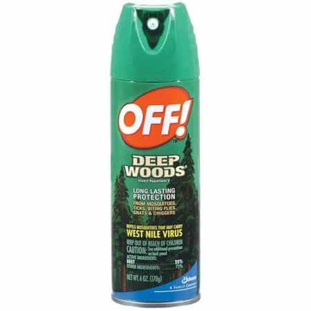 Off! Deep Woods Insect Repellant Printable Coupon