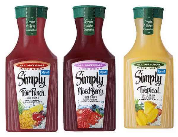 Simply Juice Drinks Printable Coupon