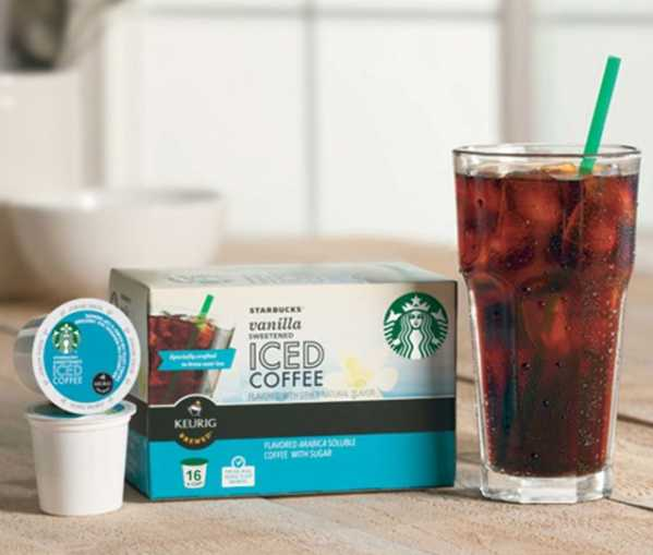 Starbucks Iced K-Cup Pack 10 ct.