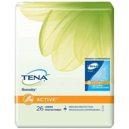 Tena Serentiy Liners Printable Coupon