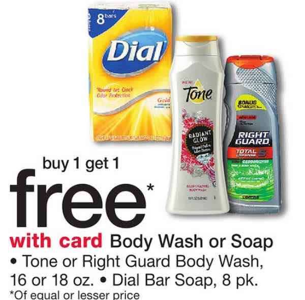 Tone soap coupons