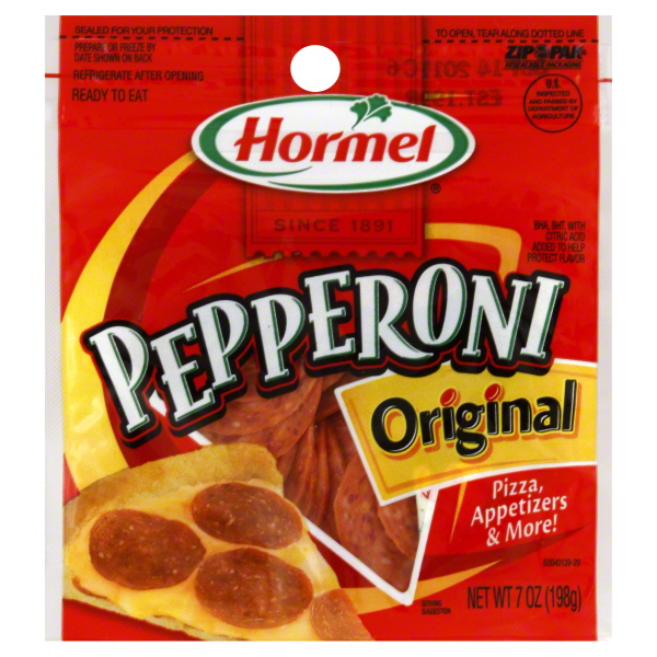 hormel pepperoni