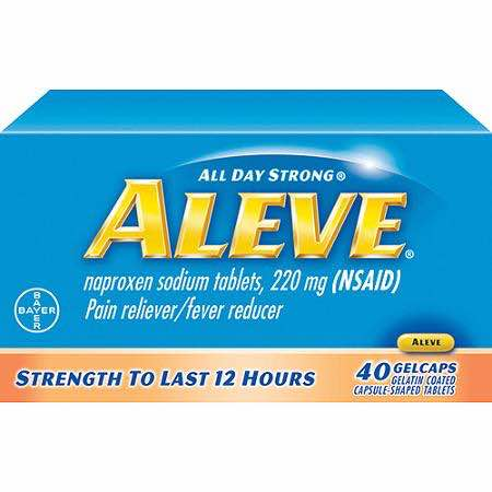 Aleve Printable Coupon