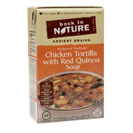 Back to Nature Ancient Grains Soups Printable Coupon