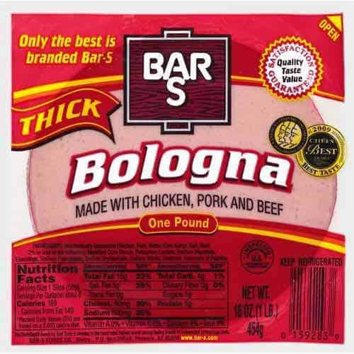 Bar-S Bologna Printable Coupon