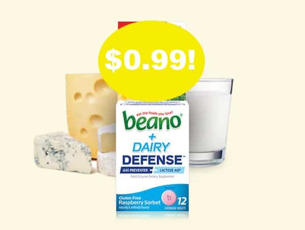 Beano Dairy Defense Printable Coupon