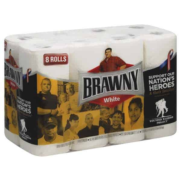 graphic relating to Brawny Printable Coupons identified as Conserve upon Brawny Paper Towels At Ceremony Help Just after BOGO Sale
