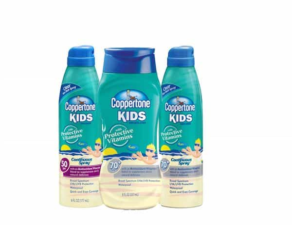 Coppertone Kids Sunscreen Printable Coupon