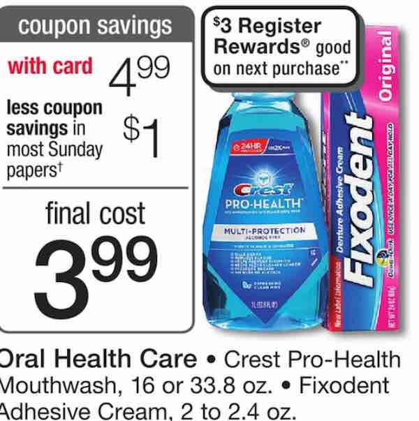 Crest Pro-Health Rinse Printable Coupon